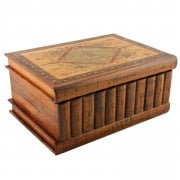 Italian Olive Wood Book Box