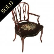 18th Century French Hepplewhite Arm Chair