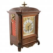 Victorian Lenzkirch Mantel Clock SOLD
