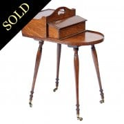 Gillows Regency Oak Butlers Canterbury