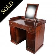 Georgian Mahogany Dressing Table