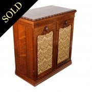 George IV Rosewood Side Cabinet