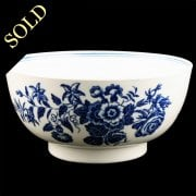 First Period Worcester Porcelain Bowl
