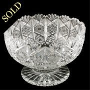 Large Cut Crystal Bowl