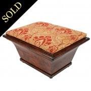 William IV Mahogany Ottoman Stool