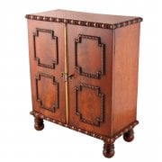 Regency Mahogany Table Cabinet