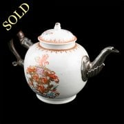 18th Century Chinese Export Teapot