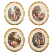 Set of Four Etchings After William Hamilton