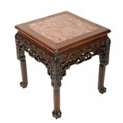 19th Century Chinese Rosewood Stand SOLD