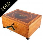 Regency Satinwood Jewel Box