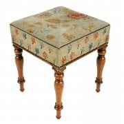Early Victorian Rosewood Stool SOLD
