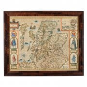John Speed 'The Kingdome of Scotland' Map SOLD