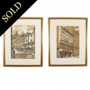 Two Lithograph Prints of Newcastle