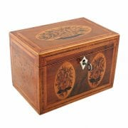 Georgian Sheraton Tea Caddy SOLD