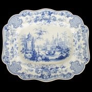 Large 19th Century Meat Plate