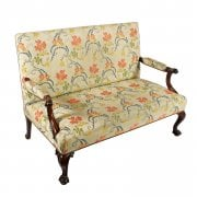 George II Style Settee by Morison & Co SOLD