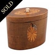 18th Century Oval Tea Caddy