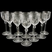 Set of Ten Liqueur Glasses