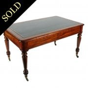 William IV Mahogany Writing Table