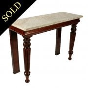 George IV Marble Top Console Table