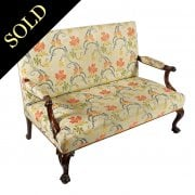 George II Style Settee by Morison & Co