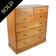 Gillow of Lancaster Ash Chest of Drawers
