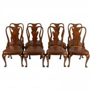 Set of Eight George II Style Chairs SOLD