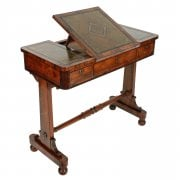 George IV Rosewood Writing Table