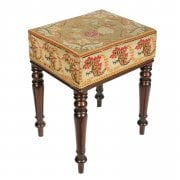 George IV Mahogany Stool SOLD