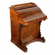 Victorian Walnut Piano Top Davenport SOLD