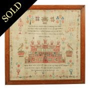 Solomon's Temple Needlework Sampler