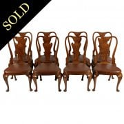 Set of Eight George II Style Chairs