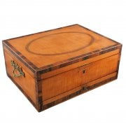 Georgian Satinwood Work Box