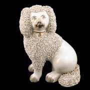 Victorian Staffordshire Pottery Dog SOLD