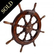 19th Century Ship's Wheel