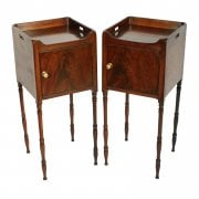 Pair of Georgian Bedside Cabinets SOLD