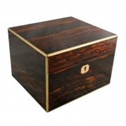 Coromandel & Brass Jewellery Box