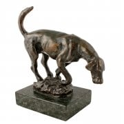Bronze Figure of a Hound