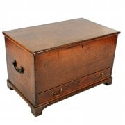Small Georgian Oak Mule Chest SOLD