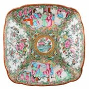 Chinese Canton Famille Rose Dish SOLD