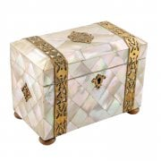 Mother of Pearl Tea Caddy