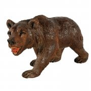 Swiss Carved Wood Bear