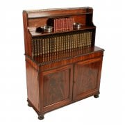 Regency Mahogany Cabinet Bookcase SOLD