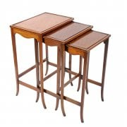 Edwardian Nest of Three Tables