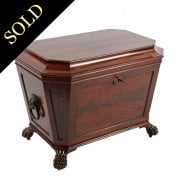 Regency Mahogany Cellaret