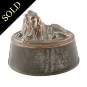 19th Century Lion Jelly Mould