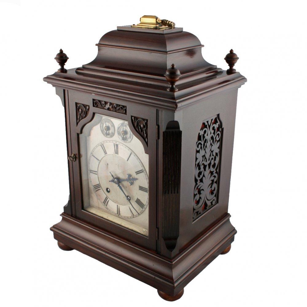 Antique Bracket Clock Georgian Style