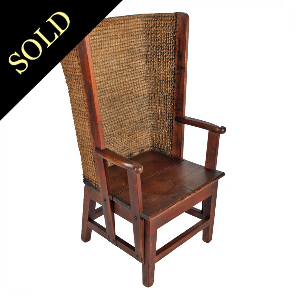 Victorian Pine Orkney Chair - Antique Orkney Chair Victorian Orkney Chair |