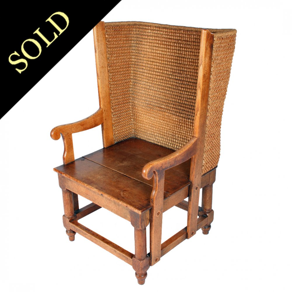 Unusual Victorian Orkney Chair - Antique Orkney Chair Victorian Orkney Chair