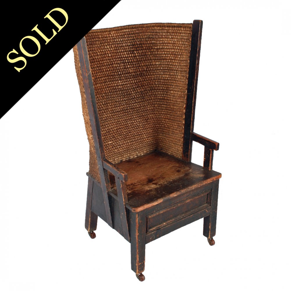 Victorian Pine Orkney Chair - Antique Orkney Chair Victorian Pine Orkney Chair |